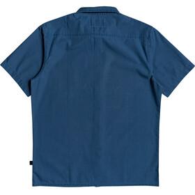 Quiksilver Taxer Wash Camiseta Manga Corta Hombre, majolica blue